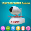 IP CAMERA T-ROBOT 1.3MP พิกเซล แท้ !!!  Indoor IP camera P2P WIFI surveillance 960P.