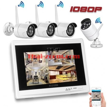 Wireless Home Security Camera System 1080P